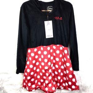 Disney Women's Minnie Mouse Hooded pajamas